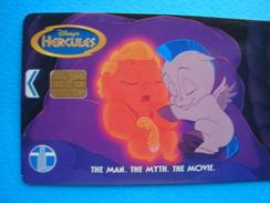 MALAYSIA  USED CARDS  DISNEY COMICS HERCULES - Malaysia