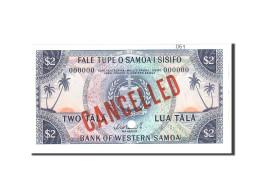Samoa Occidentales, 2 Tala, 1967, Undated, KM:17s, NEUF - Samoa