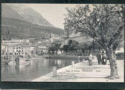 CPA - Lago Di Garda - MADERNO - Porto, Animé - Altre Città