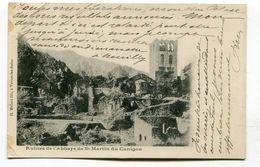 CPA  66  :  Abbaye De St Martin Du Canigou  VOIR  DESCRIPTIF  §§§ - Other Municipalities