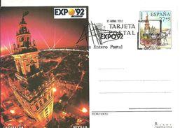 E.P MATASELLOS  PRIMER DIA 1992 EXPO - Enteros Postales