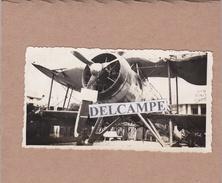 Guerre 39/45 - DAKAR 1940 - Photo Originale D'un Avion Anglais Abattu Pendant Les Combats ( Sénégal ) - Guerre, Militaire