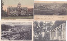Hollogne Aux Pierres - Lot 4 Cartes (panorama, Ruines, Château Colorisée) - Grâce-Hollogne