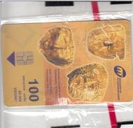 MACEDONIA - Golden Masks,GEM5 (Red), 08/01 , Tirage 80,000 ,100 U, Mint - Macedonia
