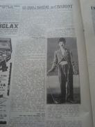 TRIBUNA ILLUSTRATA 1929 CHARLOT STAN LAUREL - Libri, Riviste, Fumetti