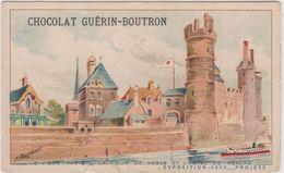 Chromo Chocolat Guerin-boutron Exposition 1900 La Tour De Nesle  Et L'hotel De Nevers - Guérin-Boutron