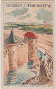 Chromo Chocolat Guerin-boutron Exposition 1900 Ministere De La Guerre  Histoire  De La Fortification - Guérin-Boutron