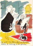 """CPSM/gf.  """" Les Vieilles Dames """"  Illustrateur Jacques Faizant. ..F811 - Faizant"""