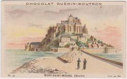 Chromo Chocolat Guerin-boutron   Mont Saint Michel 50 - Guérin-Boutron
