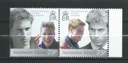 Ascension 2003 The 21st Anniversary Of The Birth Of Prince William Of Wales. MNH - Ascension