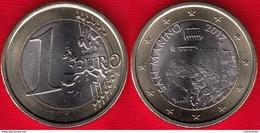 San Marino 1 Euro 2017 BiMetallic UNC - San Marino