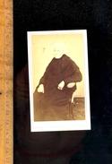 Photographie Carte De Visite CDV : Vieille Femme Vers 1860-70/ Photographe F BRISDOUX à AVALLON Yonne - Persone Identificate