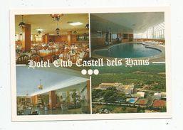 Cp,  Hôtels & Restaurants , Espagne , Multi Vues , Hotel Club Castell Dels Hams , PORTO CHRISTO , Mallorca , Vierge - Hotels & Restaurants