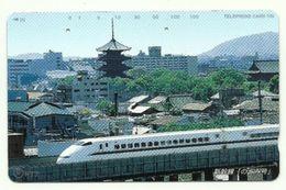Giappone - Tessera Telefonica Da 105 Units T307 - NTT, - Treni