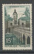 """FRANCE - LE QUESNOY - N° Yvert 1106 Belle Obliteration Ronde De """" PARIS"""" De 1958 - France"""