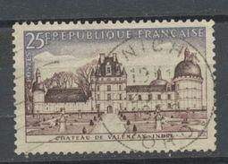 "FRANCE - VALENÇAY - N° Yvert 1128 Belle Obliteration Ronde De "" ANICHE "" De 1959 - France"