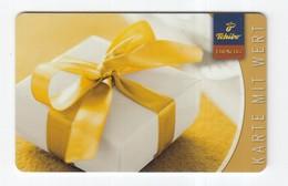 Geschenkkarte  Tchibo  Gift - Gift Cards