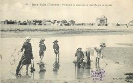 14 RIVA-BELLA PECHEURS DE CREVETTES ET CHERCHEURS DE CRABES - Riva Bella