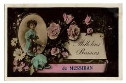 24 DORDOGNE - MUSSIDAN Carte Souvenir - Mussidan