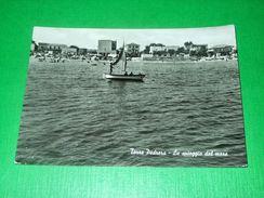 Cartolina Torre Pedrera - La Spiaggia Dal Mare 1965 - Rimini