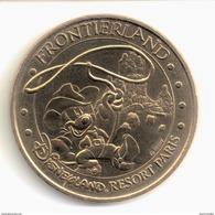 Monnaie De Paris 77.Disneyland 4 Frontierland 2009. Neuve - Monnaie De Paris