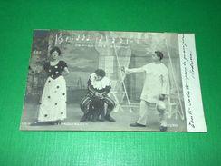 Cartolina Lirica Opera R. Leoncavallo - Pagliacci 1904 ( N. 2959 ) - Cartoline