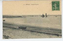 REVILLE - Barques De Pêche - Autres Communes
