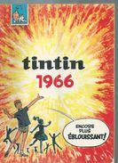 TINTIN ( BELGE )   N° 1   -  -   JANVIER 1966 - Tintin