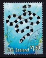 New Zealand 2001 Marine Reptiles $1.50 Banded Sea-snake Used - New Zealand