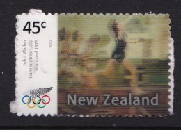 New Zealand 2004 Olympics Athens Gold Lenticular 45c Used - New Zealand