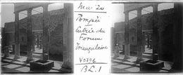 V0791 - ITALIE - POMPEI - Entrée Du Forum Triangulaire - Plaques De Verre