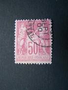 FRANCE N°104 OBLITERE N SOUS B - 1898-1900 Sage (Type III)