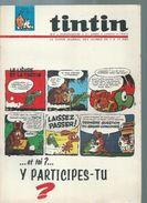 TINTIN ( BELGE )   N° 11   -  -   MARS 1966 - Tintin