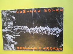 Dépliant 3 Volets / Les Grottes De Lacave/ Souillac / LOT/Dordogne/Lumiére Noire/Vers 1950        DT12 - Dépliants Turistici