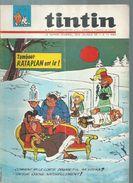 TINTIN ( BELGE )   N° 25   - BERCK -   JUIN 1966 - Kuifje