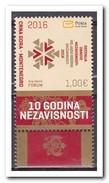Montenegro 2016, Postfris MNH, 10 JR. INDEPENDENCE - Montenegro