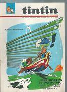 TINTIN ( BELGE )   N° 34   - MAZEL / VICQ -   AOUT 1966 - Tintin