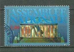 FRANCE Oblitéré 2945 Batiment De L'assemblée Nationale Liberté Drapeau - Francia