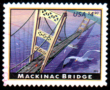 USA 2010 Bridge, 1 Postally Used - Stati Uniti