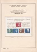 Allemagne - Collection Vendue Page Par Page - Timbres Oblitérés / Neufs *(avec Charnière) -Qualité B/TB - [6] République Démocratique