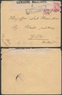 CC248 Lettre Censurée De Wulveringhem à  Groede ( Pays Bas Netherlands ) 1917 - 1915-1920 Albert I