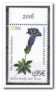 Montenegro 2016, Postfris MNH, Flowers - Montenegro