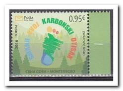 Montenegro 2016, Postfris MNH, REDUCTION OF CO2 - Montenegro