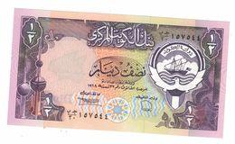 Kuwait 1/2 Dinar, UNC. - Kuwait