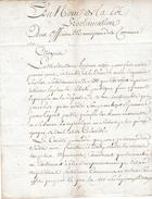 1793 - COMITÉ RÉVOLUTIONNAIRE De THIERS (63) - AGRICULTURE - Défaut De Battage Des Grains Entrainant - Documents Historiques