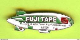 Pin's Fuji Tape Dirigeable / Blimp /Zeppelin Airship - 5K10 - Luchtballons