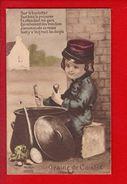 1 Cpa Carte Postale Ancienne - MILITARIA Patriotique : Graine De Cuistot - Patriotiques