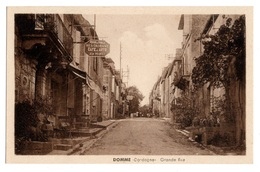 24 DORDOGNE - DOMME Grande Rue (voir Descriptif) - Sonstige Gemeinden