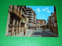 Cartolina Andria - Via G. Bovio 1972 - Bari