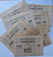 Scoutisme - Journaux ''Les Nouvelles Du Jamboree'' 1947 (Jamboree De La Paix - Moisson) - Lot De 7 Numéros - Scoutisme